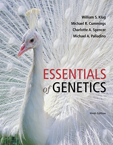 Essentials of Genetics (9th Edition) - Standalone book
