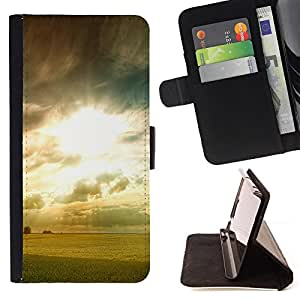 For LG G3 - Dawn photo /Funda de piel cubierta de la carpeta Foilo con cierre magn???¡¯????tico/ - Super Marley Shop -