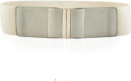 asp cintura cintura alta elasticizzata alla moda per donna cintura alta  elasticizzata elegante cintura in pu per donna, beige: amazon.it: casa e  cucina  amazon.it