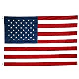Cheap Embroidered Star American Flag (4 by 6 feet) – United States Nylon Flag – Made of 210D nylon material – Perfect for Indoor and Outdoor Use by ZoneStore
