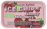 ICE CHIPS Strawberry Daiquiri Xylitol Mints 6 Single Tins