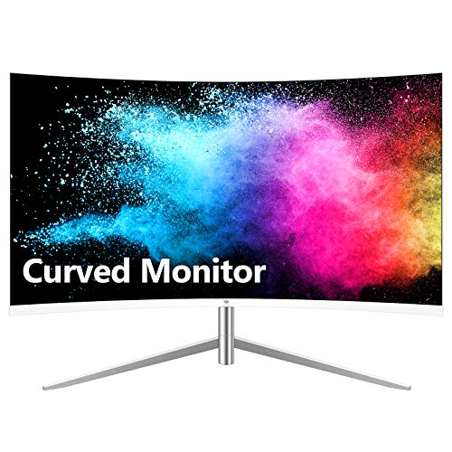Z-Edge U24C 24-inch Curved Gaming Monitor, Full HD 1080P 1920×1080 LED Backlight Monitor, with 75Hz Refresh Rate and Eye…