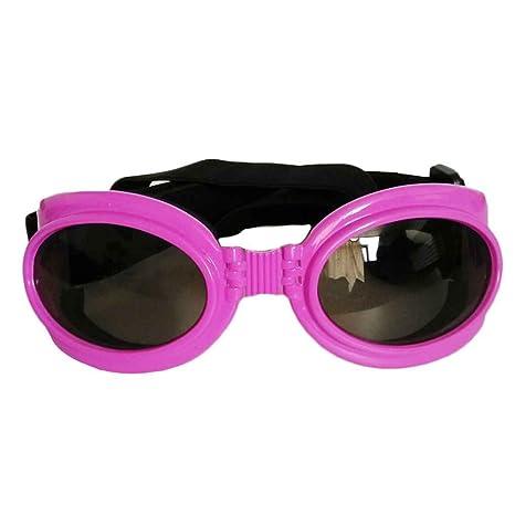 Meisijia Pet Dog UV di protezione pieghevoli Occhiali da sole Maschere Lenti con cinghia regolabile 1ovmUbFmU