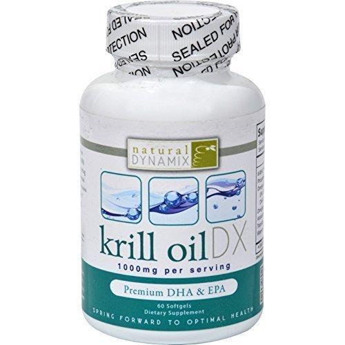 NATURAL DYNAMIX DX, KRILL OIL DX 60 SGEL EA 1