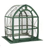 Flower House PlantHouse Greenhouse 5-ft L x 5-ft W x 6.5-ft H Pop-Up FHPH155CL supplier_id_servicedogworld it#180191806694081