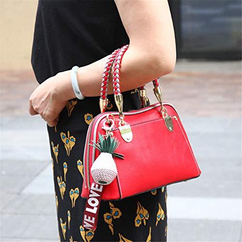 Mujer Polvere Bolso Hombro Al Yixin Rojo Para qAFwIA8
