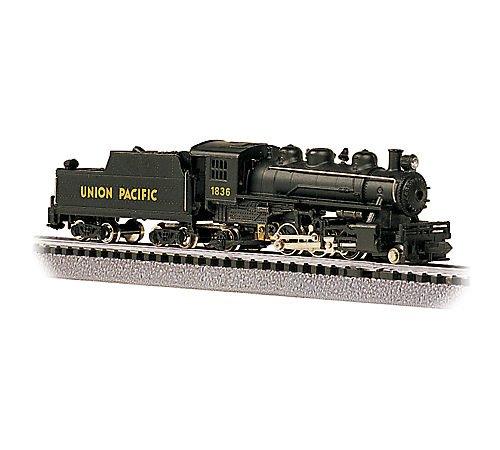 Bachmann Prairie 2-6-2 Locomotive And Tender - Union Pacific #1836 - N Scale 51551