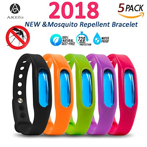 Mosquito Repellent Bracelet For Kids, Adults & Pets - Travel Insect Repellent Design For Maximum...