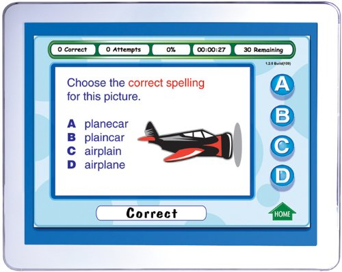 Grade 2 Vocabulary and High Frequency Words Interactive Whiteboard CD-ROM NewPath Learning Mastering Spelling Site License