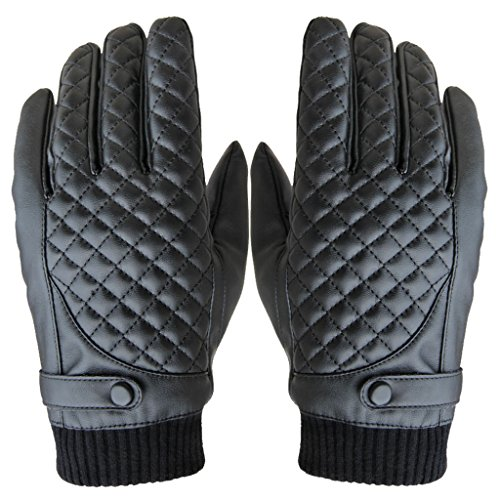 HOOYEE Leather TouchScreen Motorcycle Thickened