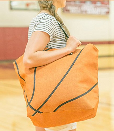 Large Sports Tote (Custom Basketball Bags)