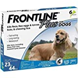 Frontline Plus for Dogs 2344 lbs Blue, 6 Month