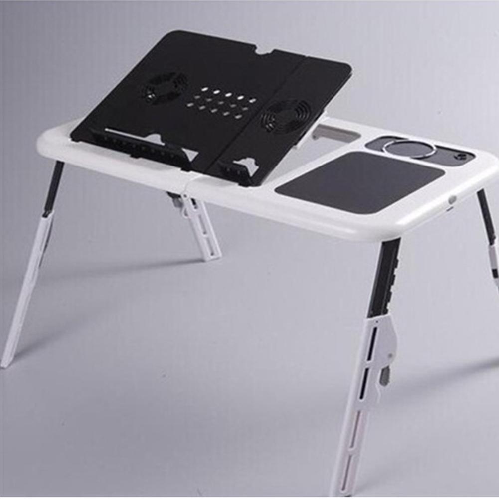 L & LQ portátil mesa auxiliar mesa de ordenador plegable Radiador ...