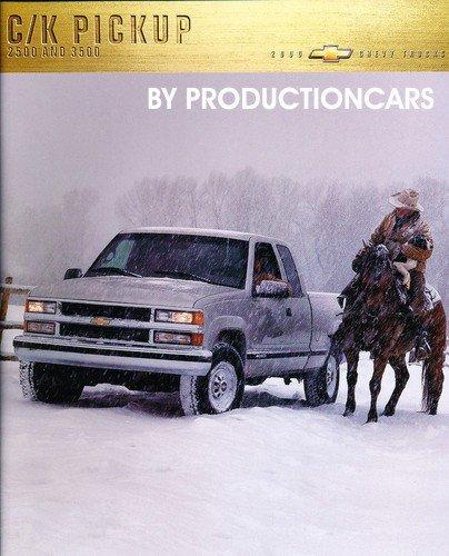2000 Chevrolet Silverado Truck 14-page Original Sales Brochure Catalog (Brochure Sales Silverado)