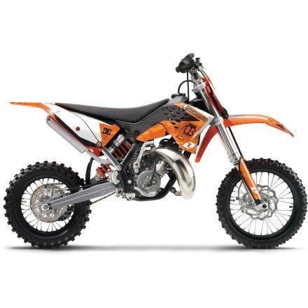 One Industries Orange Brigade Graphics Kit - 2012 - KTM - One Industries Graphics Kits