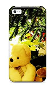 JakeNC Case Cover Protector Specially Made For Iphone 5c Christmas 58