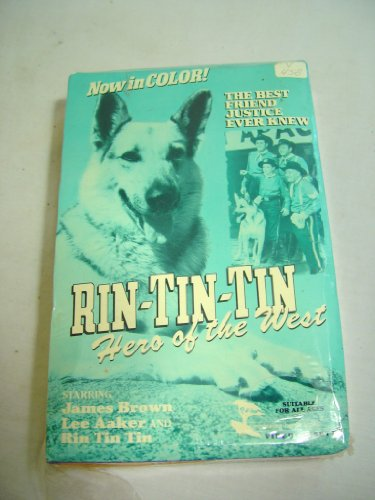 Rin-Tin-Tin: Hero of the West [VHS]