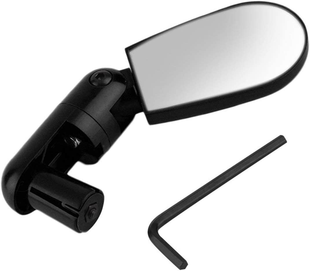 Rotate Safe Mountain Bike Motorcycle Reflective Mirror Rearview Handlebar