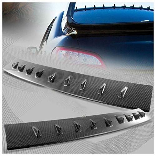 For Subaru Impreza WRX Carbon Fiber Style MR Shark Fin Rear Roof Spoiler Wing