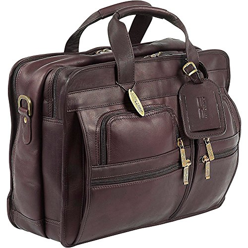 Claire Chase Executive Computer Briefcase, Cafe, One Size ()