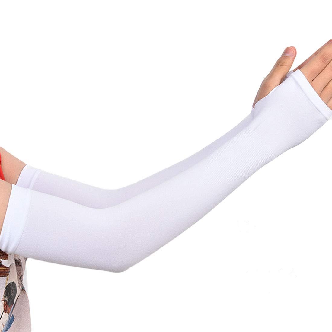 qianzhi Unisexe Et/é Manchettes Refroidissement Cool Couverture Sun Block Protection UV pour Sports De Plein Air Courir Randonn/ée V/élo P/êche