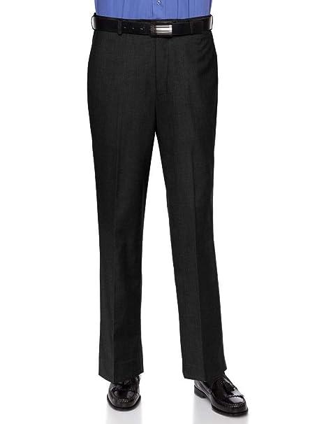 Amazon.com: RGM - Pantalones de vestir para hombre, corte ...