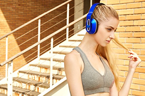 1MORE Wireless Over-Ear Headphones Bluetooth Comfortable Earphones with Bass Control, Durable Headband, Noise Cancellation Mic and in-Line Remote Controls Smartphones/PC/Tablet 8