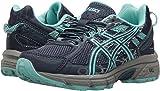 kids running - ASICS Kid's GEL-Venture 6 GS Running Shoe - C744N.4988 (Indgo Blue/Blue/Grey - 4)