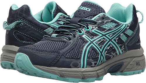 ASICS Kids Girl's Gel-Venture 6 GS (Little Kid/Big Kid) Indigo Blue/Aruba Blue/Mid Grey 3.5 M US Big Kid