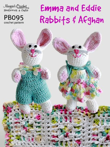 Crochet Pattern Emma & Eddie Rabbit PB095-R