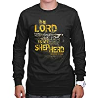 Lord Is My Shepherd Religious Gifts Jesus Christ Christian Long Sleeve Tee
