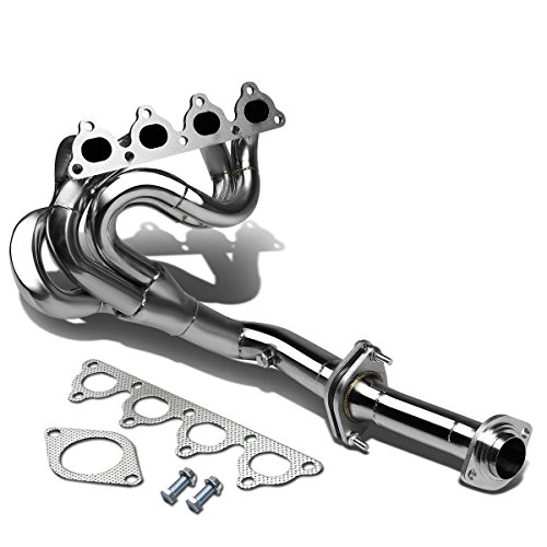 Exhaust Drag Racing (DNA Motoring HDS-HC88-H Stainless Steel 4-1 Exhaust Drag Header for Honda D-Series)