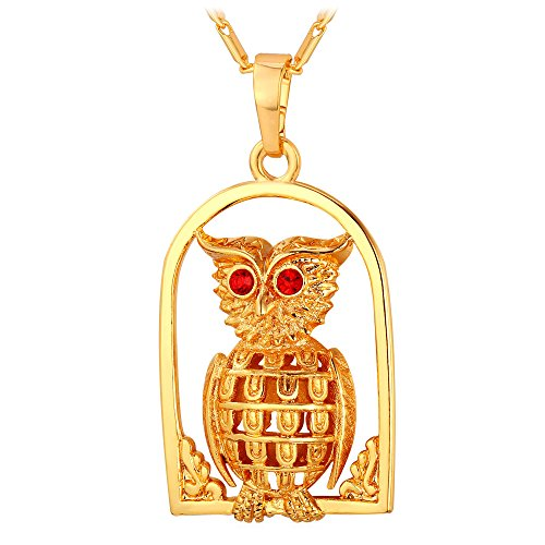 Gold Plated Animal Pendant Necklace