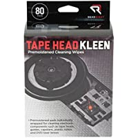 Read Right Tape Head Kleen Cleaning Pads, 80 Pads per Box (RR1301)
