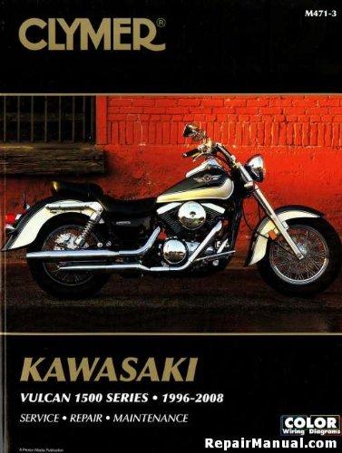 M471-3 1996-2008 Kawasaki VN1500 Vulcan Clymer Motorcycle Repair Manual