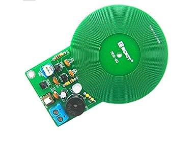 Seajunn Diy Kit Metal Detector Kit Electronic Kit Dc 3v 5v 60mm Non