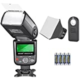 Neewer 750II TTL Speedlite Flash Kit for Nikon with IR Wireless Remote Control,AA Battery,Diffuser for Nikon D7200 D7100 D7000 D5500 D5300 D5200 D5100 D5000 D3300 D3200 D3100