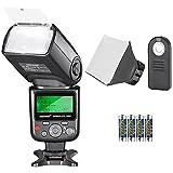 Neewer 750II TTL Speedlite Flash Kit for Nikon with IR Wireless Remote Control,AA