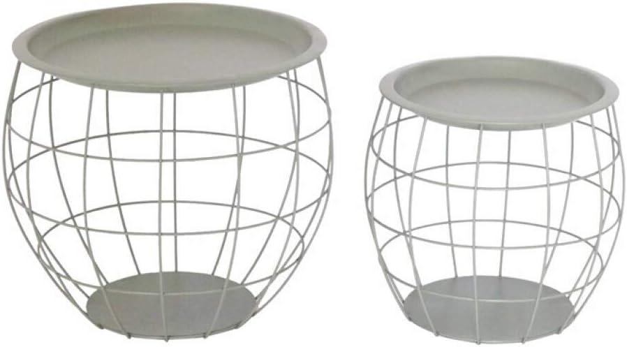 ZONS MIRO - Juego de 2 mesas, diseño de mono, color gris: Amazon.es: Juguetes y juegos