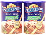 Progresso Bread Crumbs, Italian Style, 2-pack 40 Ounce Canisters