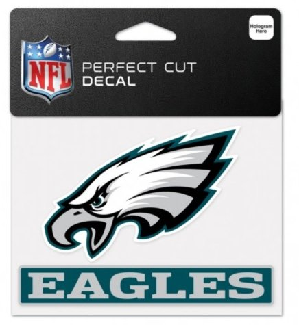 Wincraft Philadelphia Eagles Decal (NFL Philadelphia Eagles 4