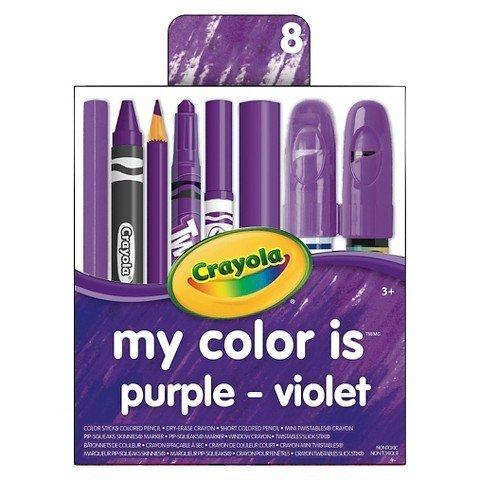 Crayola My Color is Purple