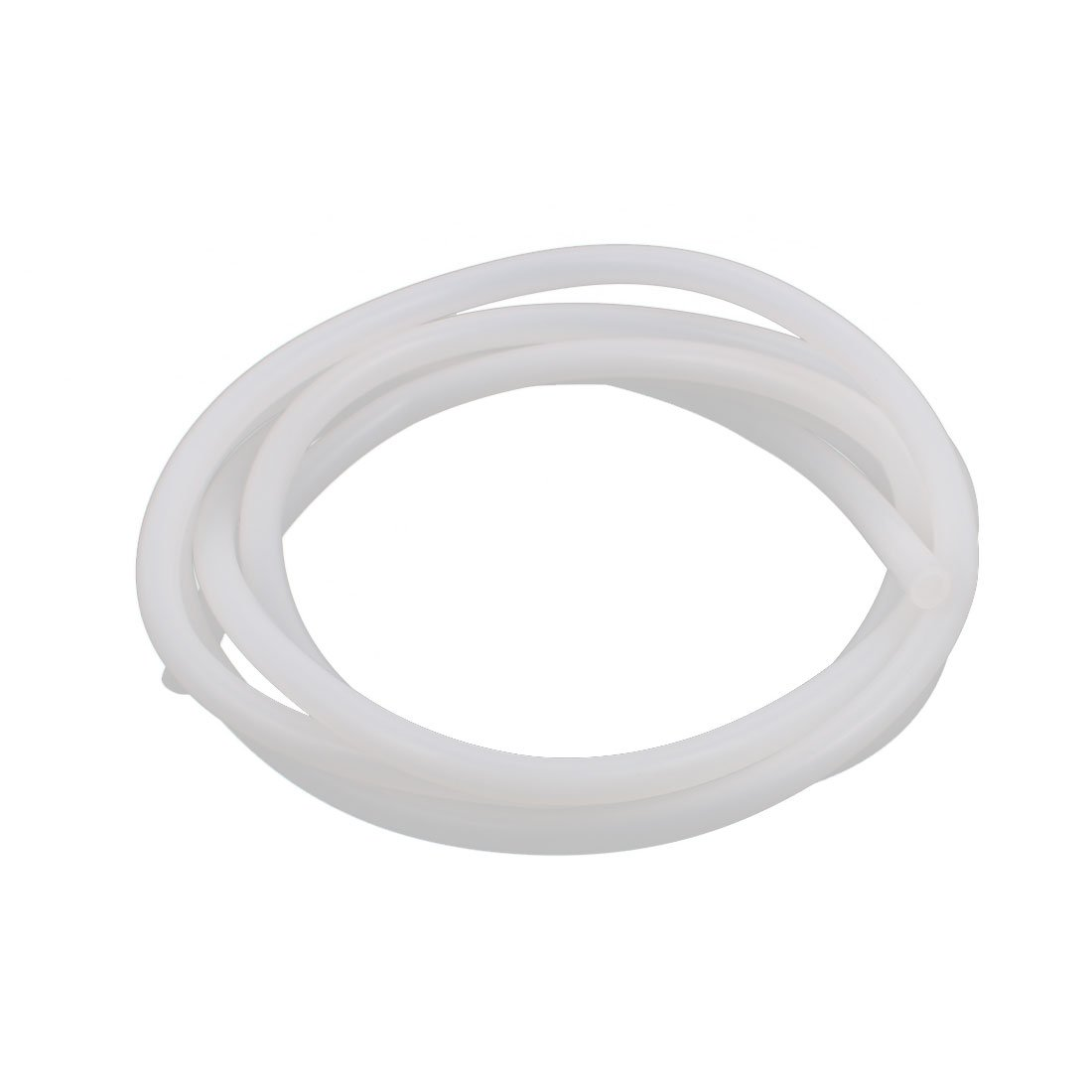 uxcell 5 x 8mm Translucent Silicone Tube Water Hose Pipe 2 Meters Length a16092700ux0272