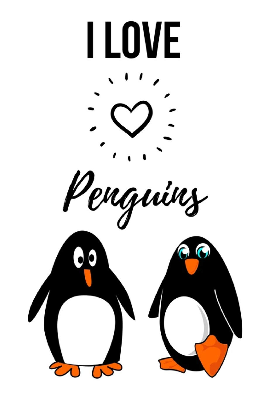 150 pages with special sturdy thread stitching Bullet Journal Loving Penguins A5