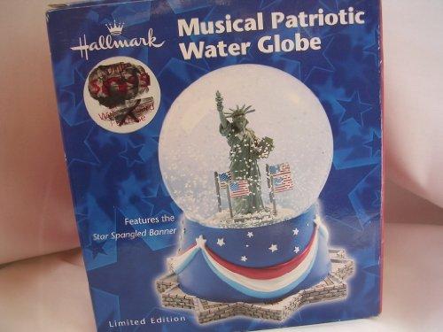Limited Edition Snowglobe - Musical Patriotic Water Globe Snowglobe 6