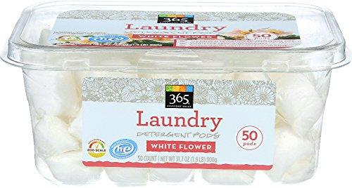 365 Everyday Value, Laundry Detergent Pods, White Flower, 50