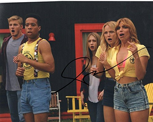 Angela Trimbur signed The Final Girls Halloween 8x10