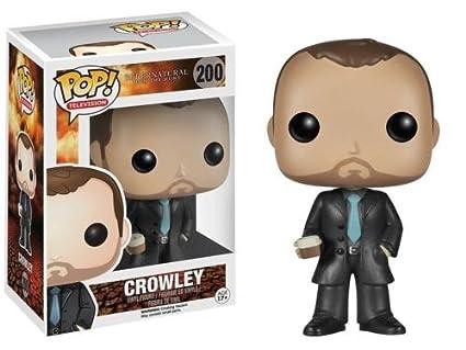 Amazon.com: Funko POP. Televisión Supernatural Crowley ...