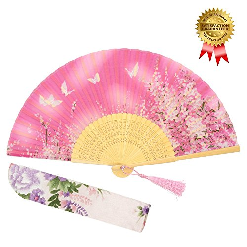 Personalized Cherry Blossom Fan - 2