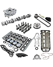Camshaft Lifters Kit Water Pump Timing Chain Kit w/Gasket Compatible with Chrysler Aspen Dodge Durango Ram 1500 5.7L HEMI MDS 2009-53021726AE 53022243AF Koomaha